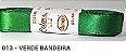 Fita de Cetim Lisa 13 Verde Bandeira - Imagem 1