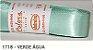 Fita de Cetim Lisa 1718 Verde Água - Imagem 1