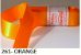 Fita de Cetim Lisa 261 Orange - Imagem 1