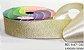Fita Decorativa Lurex c/10 metros 02 Dourado - Imagem 1