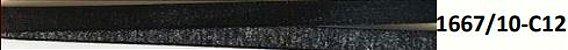 Fita Decorativa Lurex c/10 metros 12 Preto c/ Prata - Imagem 2