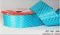 Fita Cetim Quadriculada Sinimbu n°9 (38mm) - 2888 Tiffany - Imagem 1