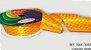 Fita Cetim Quadriculada Sinimbu n°9 (38mm) - 3093 Amarelo Margarida - Imagem 1