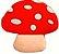 Aplique Emborrachado Cogumelo - Imagem 1