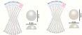Cartelas Adesivas Meia Pérola - Vários Tamanhos e Cores - Imagem 2