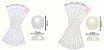 Cartelas Adesivas Meia Pérola - Vários Tamanhos e Cores - Imagem 1