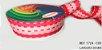Fita Decorativa Listrada n°9(38mm) SINIMBU - C03 Tons de Rosa - Imagem 1