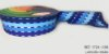 Fita Decorativa Listrada n°9(38mm) SINIMBU - C08 Tons de Azul - Imagem 1