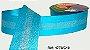 Fita Decorada Gorgurão com Cetim 38mm Sinimbu - 10 Frozen - Imagem 1