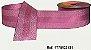 Fita Decorada Gorgurão com Cetim 38mm Sinimbu - 3131 Lilás - Imagem 1
