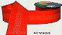 Fita Decorada Gorgurão com Cetim 38mm Sinimbu - 976 Vermelho - Imagem 1