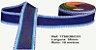 Fita Decorativa Jeans Tons de Azul SINIMBU 38mm C-01 - Imagem 1