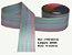 Fita Decorativa Listrada com Brilho (38mm) - C02 Tons Baby - Imagem 1