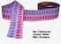 Fita Decorativa Retangular (38mm) - C02 Tons Rosa com Azul Bebê - Imagem 1