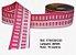 Fita Decorativa Retangular (38mm) - C03 Tons Rosa - Imagem 1