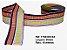 Fita Decorativa Retangular (38mm) - C04 Tons Arco Iris Escuro - Imagem 1