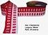 Fita Decorativa Retangular (38mm) - C05 Tons Vermelho - Imagem 1