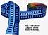 Fita Decorativa Retangular (38mm) - C07 Tons Azul - Imagem 1