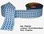 Fita Xadrez Sinimbu n°9 (38mm) - 03 Tons Azul - Imagem 1