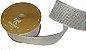 Fita de Juta Metalizado Branco Colorido 97  - Imagem 1