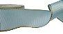 Fita de Gorgurão Borda Dourada Azul - Imagem 1
