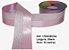 Fita Decorativa Dupla Lurex com Cetim 38mm Sinimbu - 04 Rosa - Imagem 1
