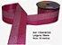 Fita Decorativa Dupla Lurex com Cetim 38mm Sinimbu - 05 Pink - Imagem 1