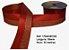 Fita Decorativa Dupla Lurex com Cetim 38mm Sinimbu - 06 Vermelho - Imagem 1