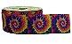 Fita de Gorgurão Tie Dye Espiral Arco Íris 2018 - Imagem 1