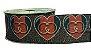 Fita de Gorgurão Lurex Coração Gucci 1782 - Imagem 1