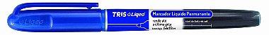 Marcador líquido permanente - azul - liqeo - Tris - Imagem 1