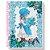 Caderno universitário Sweet Dreams - 96 folhas - 1 matéria - fls coloridas - adesivos - envelope plástico - Tamoio - Imagem 3