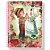 Caderno universitário Sweet Dreams - 96 folhas - 1 matéria - fls coloridas - adesivos - envelope plástico - Tamoio - Imagem 2