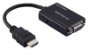 CONVERSOR HDMI PARA VGA COM AUDIO MULTILASER - WI293 # - Imagem 1