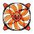 COOLER GABINETE 14CM COUGAR CF-D14HB-R LED VERMELHO# - Imagem 1