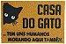 Capacho CASA DO GATO - Imagem 1