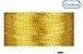 Linha Metalizada Ricamare Cones de mil metros 2999 DOURADA - Imagem 1