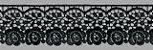 GP018 LARGURA: 5,3 CM COMPOSIÇÃO: 100% Poliéster PRETO - Imagem 1