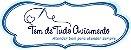 TRICOLINE POÁ CINZA 100% ALGODÃO FUXICOS E FRICOTES RT385 - Imagem 2