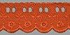 Passa Fita – PP057-050 (Novo) - Passa Fita: 65/35 largura 5 cm Cor Laranja COR 013 - Imagem 1