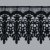 GP012 LARGURA: 7,5 CM COMPOSIÇÃO: 100% Poliéster PRETO - Imagem 1
