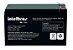 Bateria de Chumbo-ácido (VRLA) 12V 7A XB 12SEG Intelbras - Imagem 2