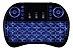 MINI TECLADO WIRELESS COM LUZ TV BOX SMART TV - Imagem 2