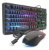 Kit Gamer Teclado + Mouse Philips com LED - C214BK / SPT6214BK - Imagem 1