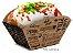 F5K - 100 unid -  Embalagem para batata frita, assada e porções - Imagem 1