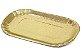 PD106 -400 unid - Pratinho retangular dourado para Eclair  - Imagem 1
