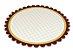 PD213 -1 unid -  Pratos reforçados para bolos e tortas 34 cm  - Imagem 1