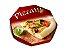PZ2 + PZ1 -50 unid - Embalagem para pizza com base branca - Imagem 2