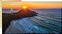 Squeeze Praia Do Rosa Nascer Do Sol, alumínio, 750ml - Imagem 3