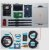 Kit de desenvolvimento para WSSFM20R2AT - EVBSFM20R2AT - Imagem 1
